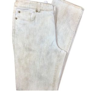Chico's Platinum ultimate fit slim leg jeans EUC 1